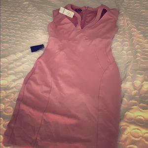 New Bebe pink dress